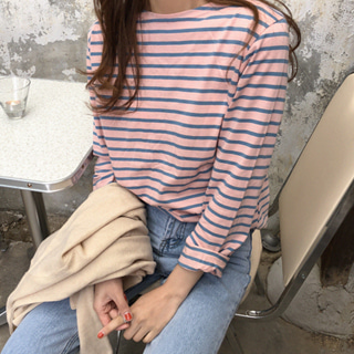 selly stripe t-shirt