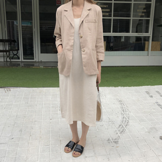 bread linen jacket
